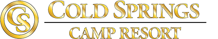cold springs camp resort logo